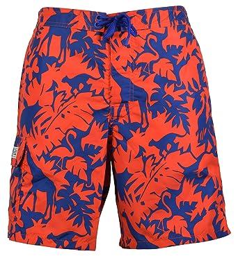 "cf68da7b6c Polo Ralph Lauren Safari Tropical Print Kailua 8 1/2"" Swim Trunks - M"
