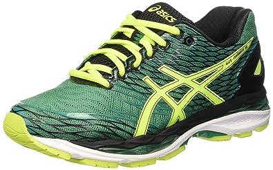 f1cc4315 ASICS Men's Gel-Nimbus 18 Training Shoes, Green (Pine/Flash Yellow ...
