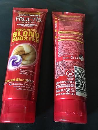 garnier fructis color resist blond booster 150 ml - Fructis Color Resist
