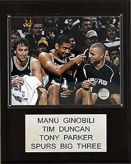 product image for NBA Ginobili-Duncan-Parker San Antonio Spurs Player Plaque