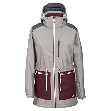 Trespass Womens Ladies Toots Waterproof Breathable Padded Ski Jacket   Amazon.co.uk  Sports   Outdoors 3fa8f5cd1