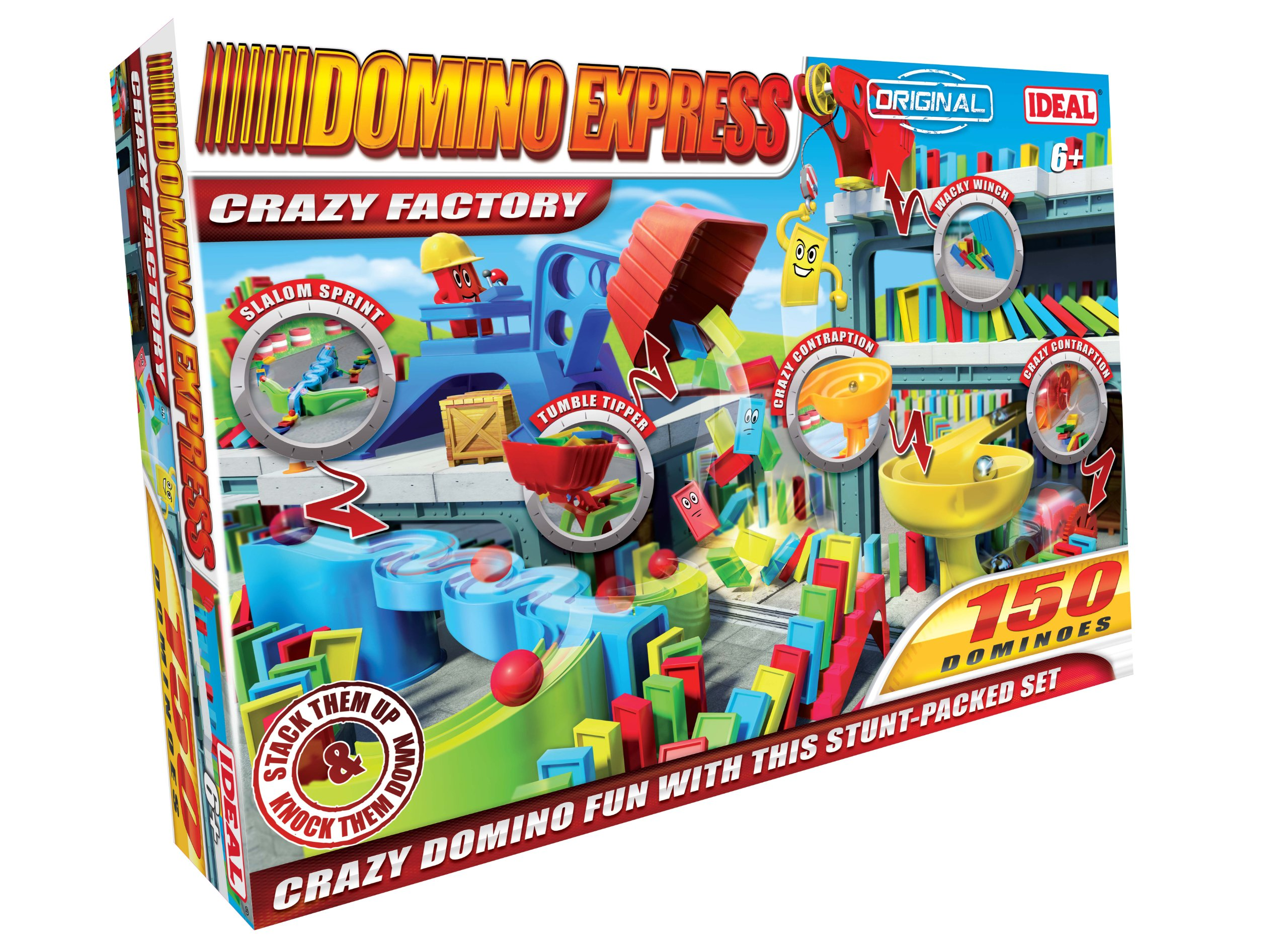 Domino Express Crazy Factory by Ideal