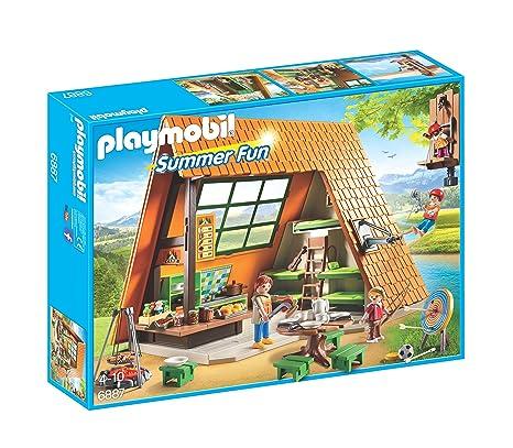 Playmobil 6887 Gite De Vacances Playmobil Amazon Fr Jeux Et