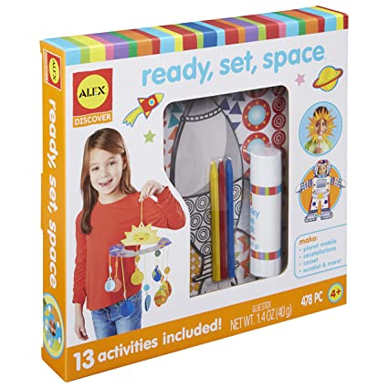 Amazoncom Alex Discover Ready Set Space Learning Kit Toys Games