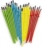 Darice 1181-79 24-Piece Kids' Paint Brush Assortment