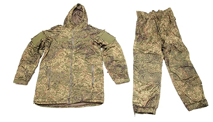 Russian Army Military Extreme Cold Weather Insulated Winter Uniform Suit Emr Digital Flora Camo Vkbo