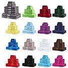 NatureMark 10 TLG. Frottier Handtuch-Set Verschiedene Größen 4X Handtücher, 2X Duschtücher, 2X Gästetücher, 2X Waschhandschuhe - Premium Qualität (10 TLG. Frottier Set, Schoko braun)