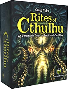 Quirky Engine Entertainment Rites of Cthulhu The Game - Fantasy Card Game Based On H.P. Lovecraft Stories - Featuring Characters from The Cthulhu Work - 2 to 6 Players