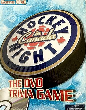 Amazon com: Hockey in Canada Night the Dvd Trivia Game