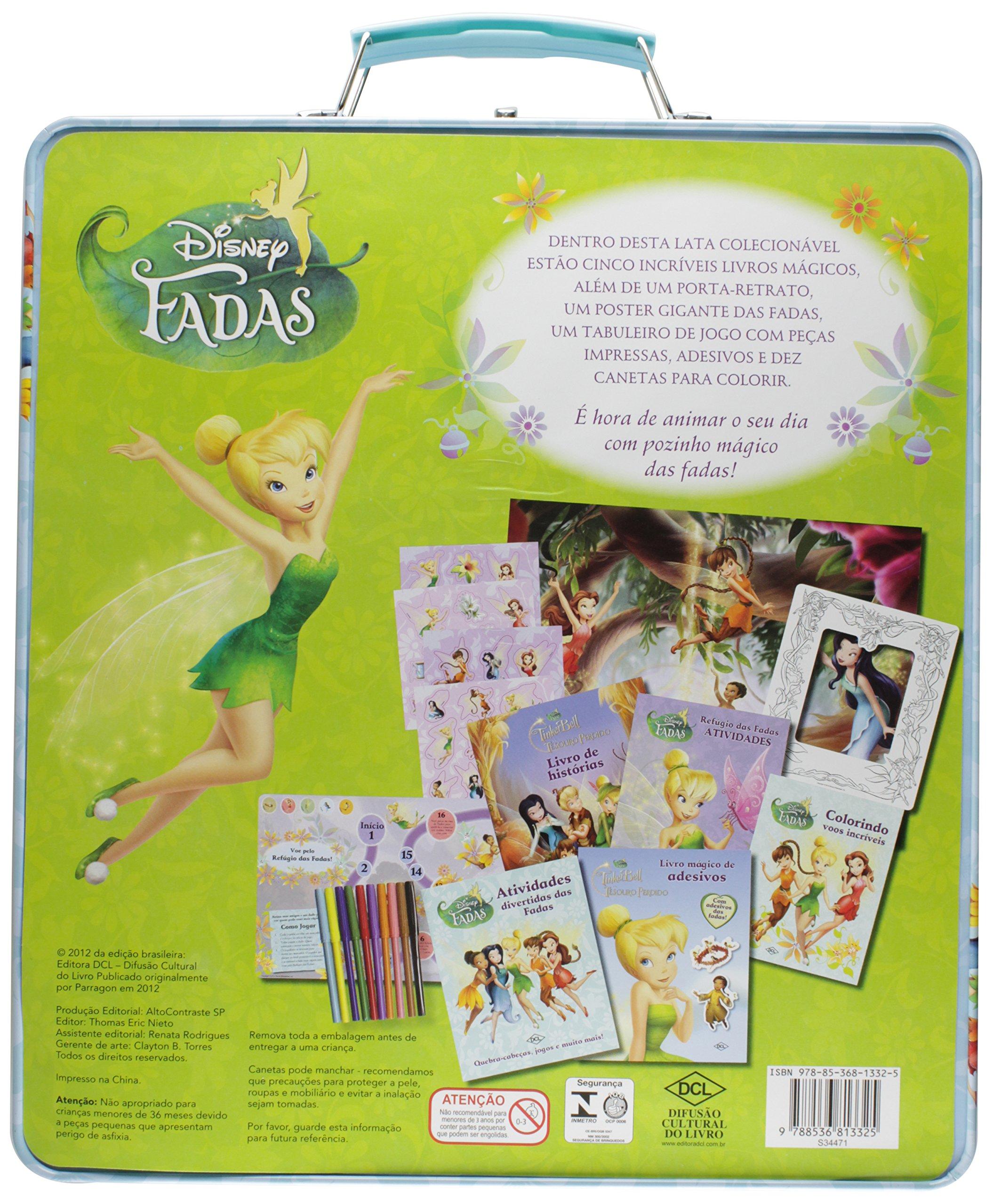 Maleta. Fadas (+ Giz De Cera): Vários Autores: 9788536813325: Amazon.com: Books