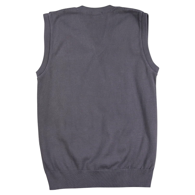 Edwards V-Neck Sleeveless Sweater Vest