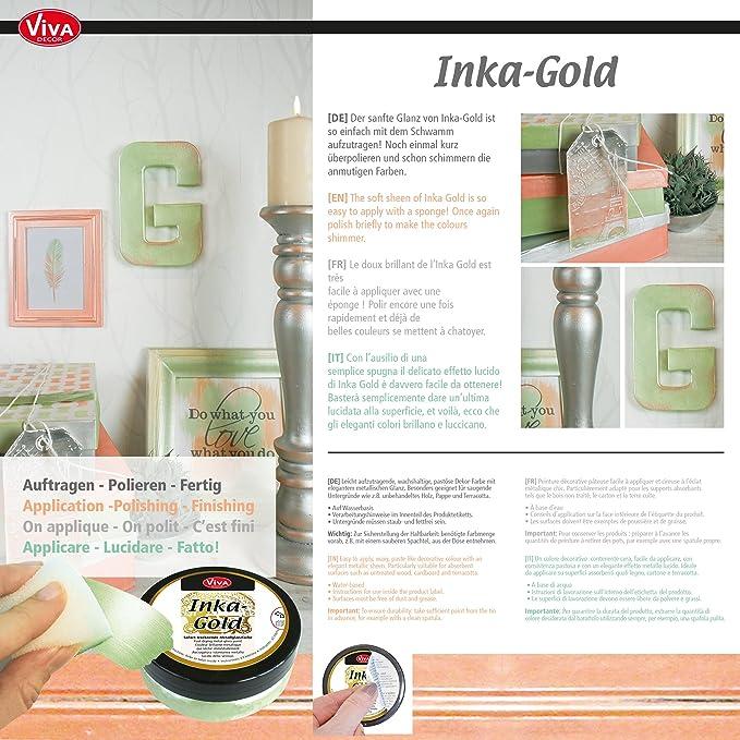 Amazon Inka Gold Paint Set Of 3 Golden Classic