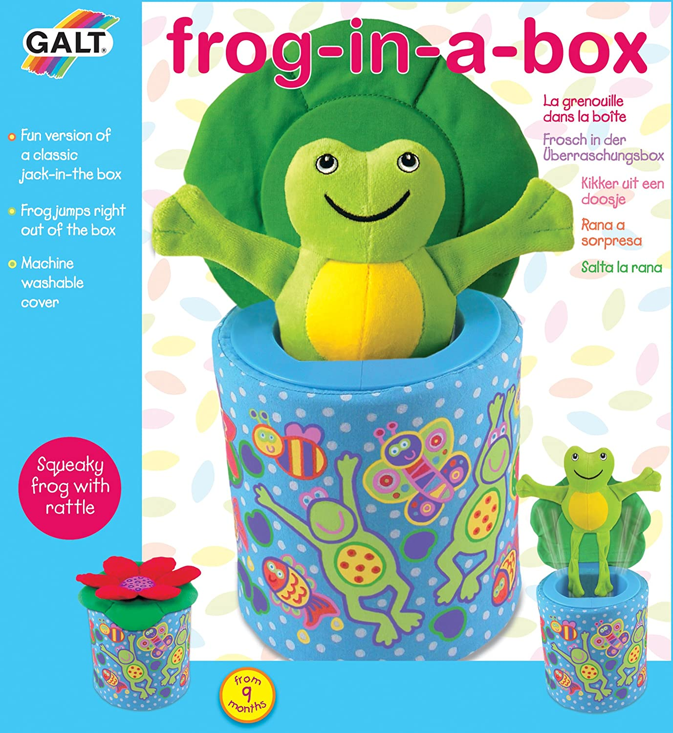 Amazon.com  Galt Frog in a Box (Discontinued by Manufacturer)  Baby Toys  Baby  sc 1 st  Amazon.com & Amazon.com : Galt Frog in a Box (Discontinued by Manufacturer ... Aboutintivar.Com