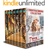Christmas Brides Collection : 7 Book Heartwarming: Clean & Wholesome (Mail Order Bride Holiday Romance & Mallory's Miracle  Christmas Complete Serie 1)