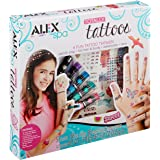 Alex Spa Girls Totally Temporary Tattoo Kit Girls Fashion Activity