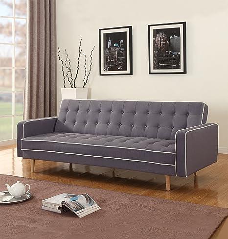 Amazon.com: Sofá cama, futón moderno estilo ...