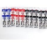 三菱鉛筆 ジェットストリーム 多色ボールペン 0.7mm 替芯 10本セット(黒5本・赤3本・青2本)