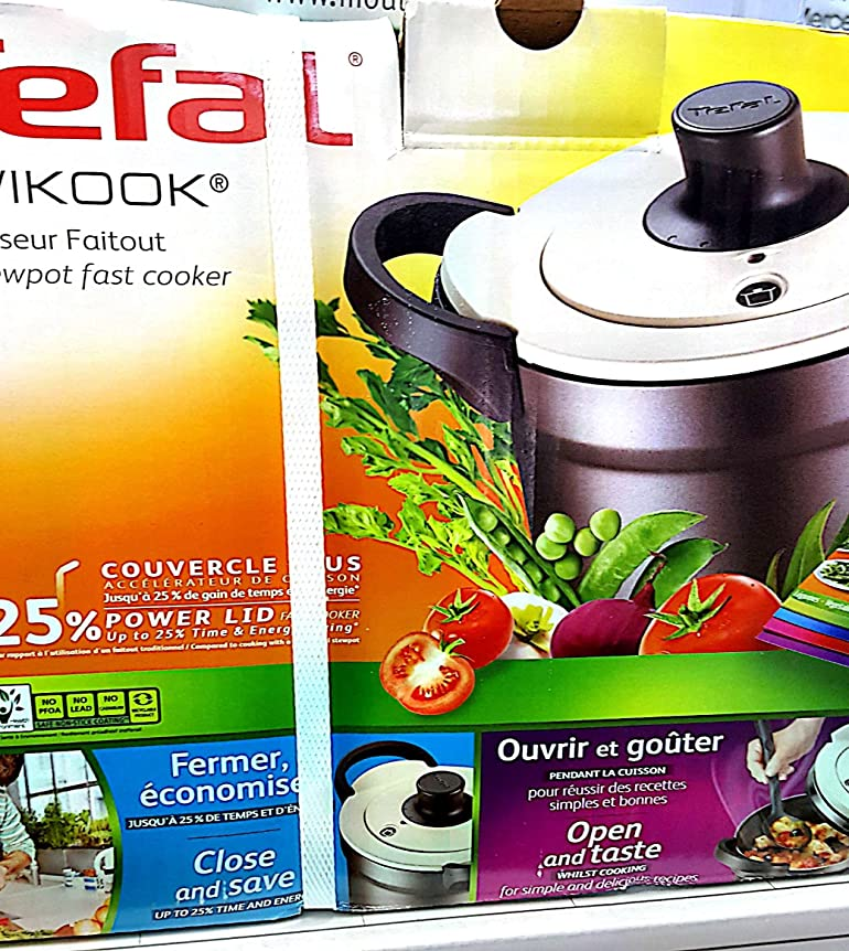 Tefal Wikook P6060401 Pressure Cooker 4 L Suitable for Induction ...