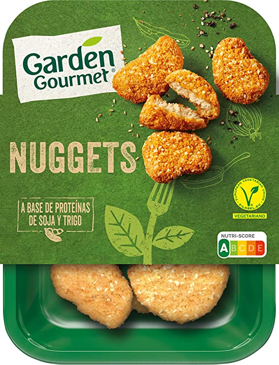 Garden Gourmet - Nuggets Vegetarianos, 0% carne, 200g