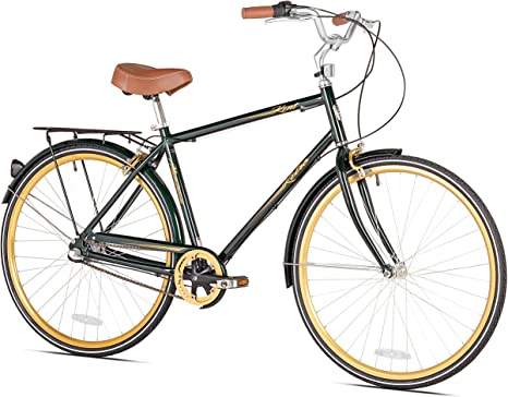 Kent Retro Hombres de la Ciudad para Bicicleta, 700 C: Amazon.es ...