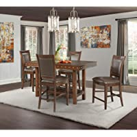 Society Den Pruitt Counter 5-Pc Dining Set
