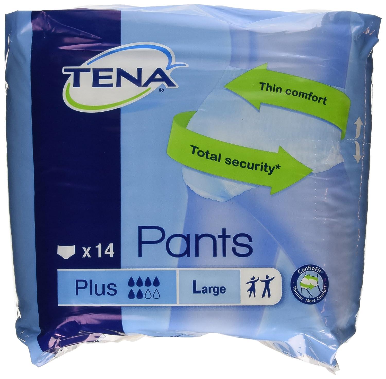 Tena - Pants - Pañales, Talla L - 14 unidades: Amazon.es: Salud y cuidado personal
