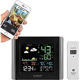 La Crosse Technology V10-TH-INT V10-TH - Estación meteorológica inalámbrica WiFi