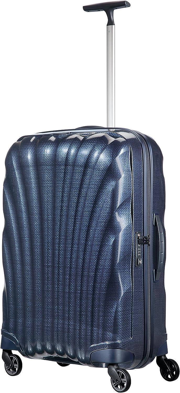 36 liters Ice Blue SAMSONITE Cosmolite Bleu 55 cm Spinner 55//20 Bagage cabine