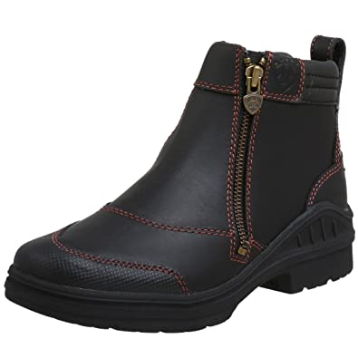 Amazon.com: Ariat Women's Barnyard Side Zip Barn Boot: Shoes