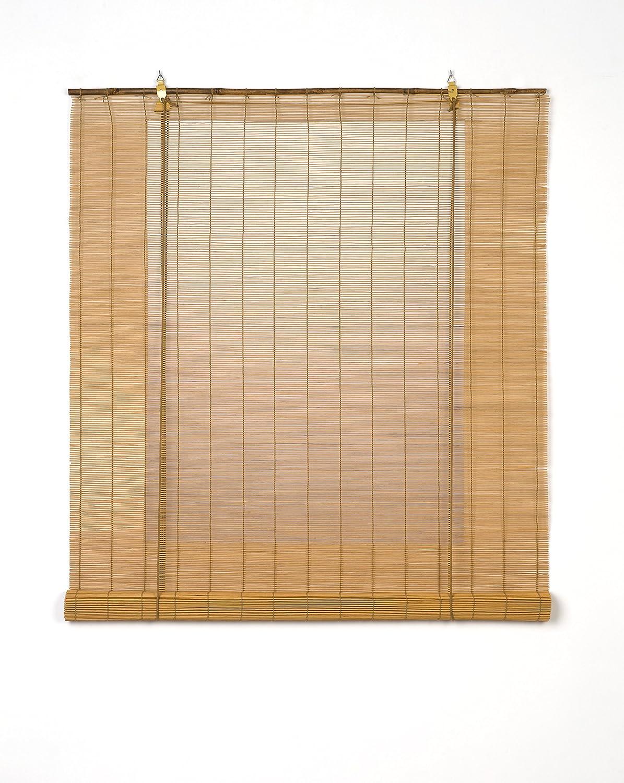 Estores Basic - Estores para ventana, color miel, 150x170cm