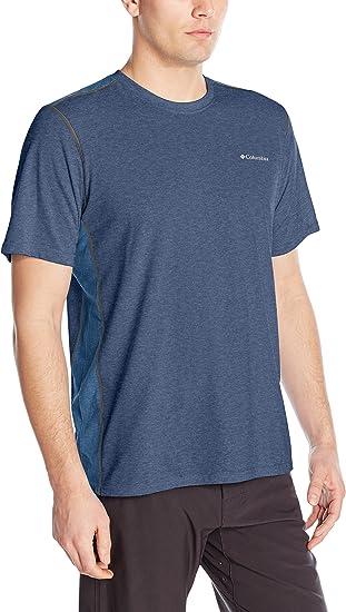 "New Mens Columbia /""Silver Ridge/"" Omni-Wick Short Sleeve Tee Top Shirt"