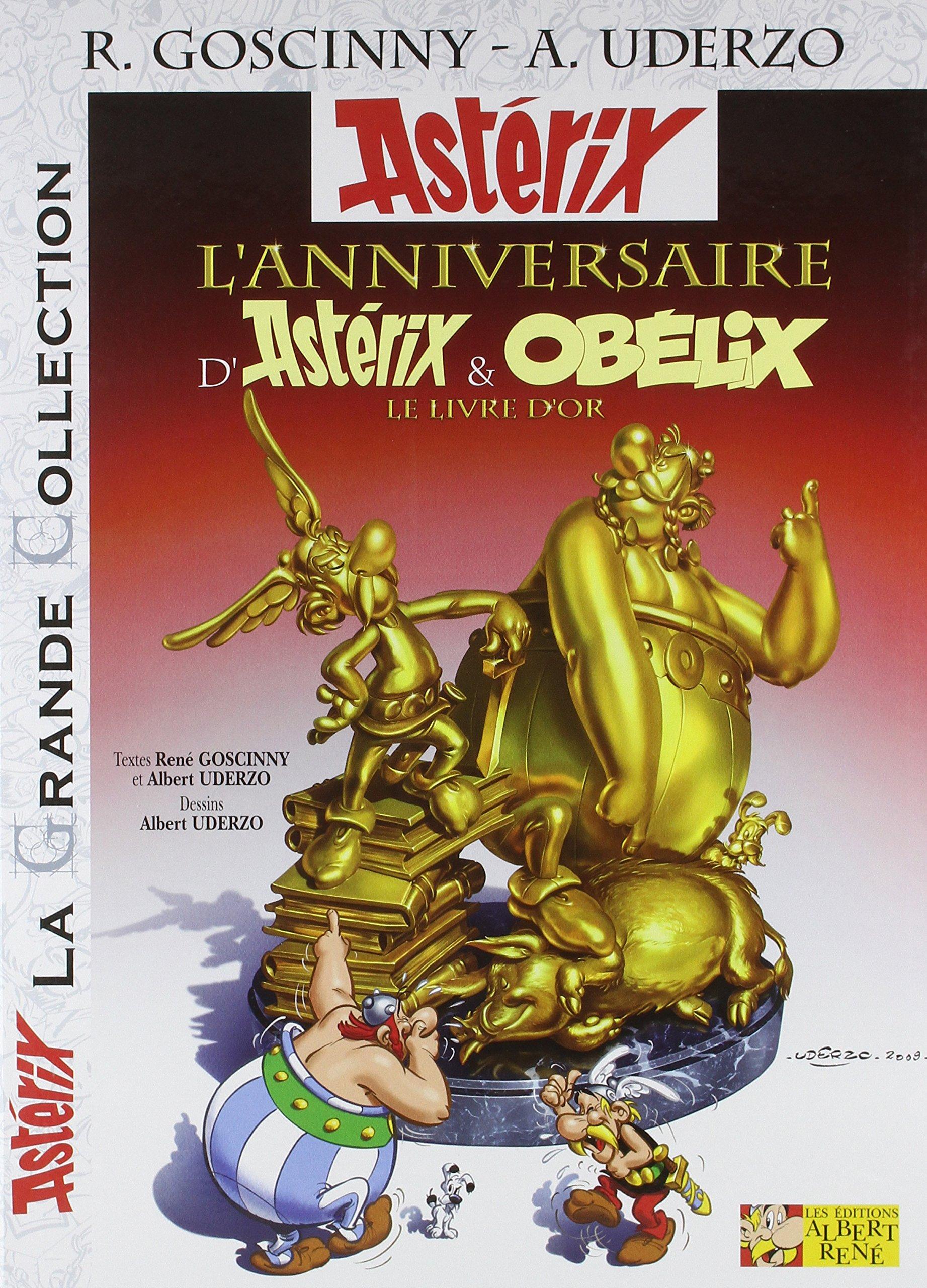Asterix Tome 34 L Anniversaire D Asterix Et Obelix Le
