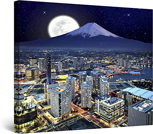 Startonight Canvas Wall Art Yokohama