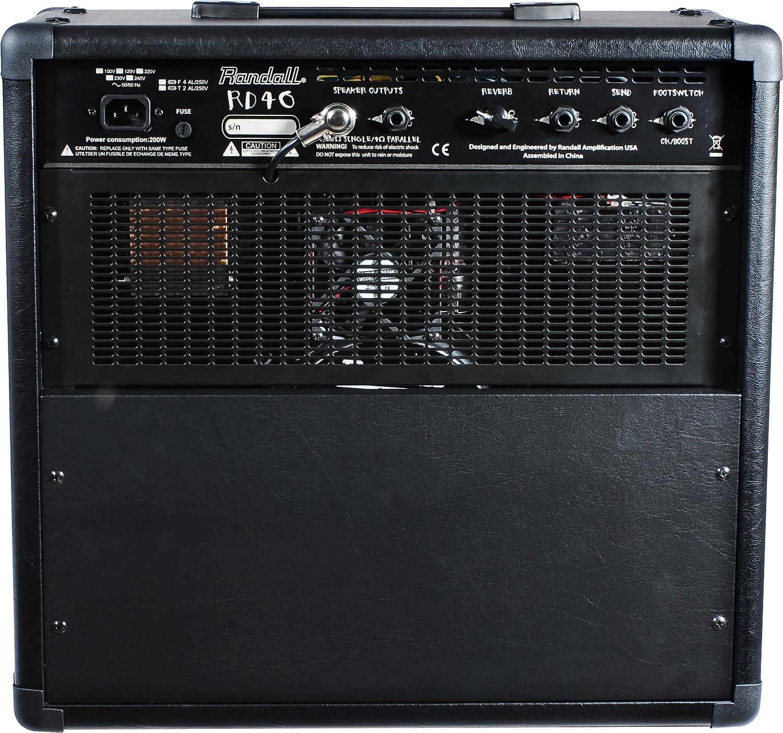 Randall 309689 rd40 C Combo Guitarra accesorios: Amazon.es: Instrumentos musicales