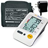 "LotFancy Blood Pressure Monitor, Upper Arm Large Cuff (11.8-16.5""), 4-User Mode Electronic Sphygmomanometer (FDA Approved)"