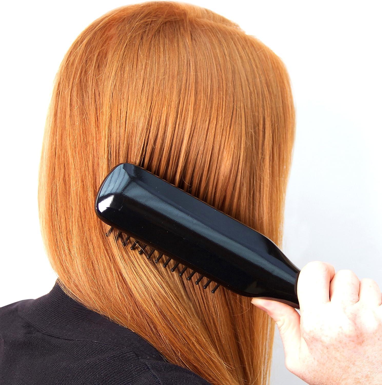 Rio ProHeat Shine and Detangle Hair Straightener Brush