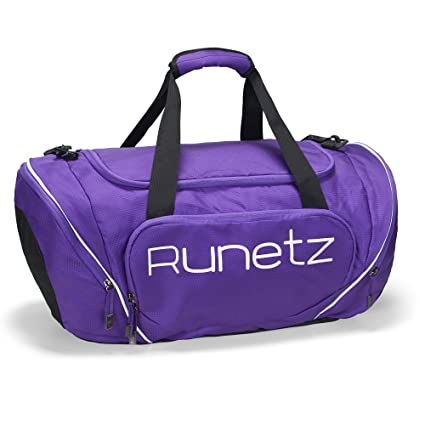 bb342060e1de Amazon.com  Runetz Gym Duffle Bag - Sports Bag for Men and Women ...