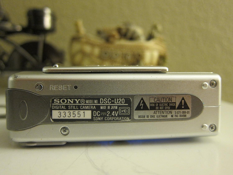 Sony DSC-U20 Camera USB Drivers Windows 7