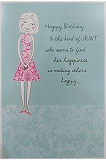 Happy Birthday AUNT Greeting Card