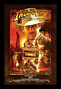Wallspace Indiana Jones and The Raiders of The Lost Ark - 11x17 Framed Movie Poster