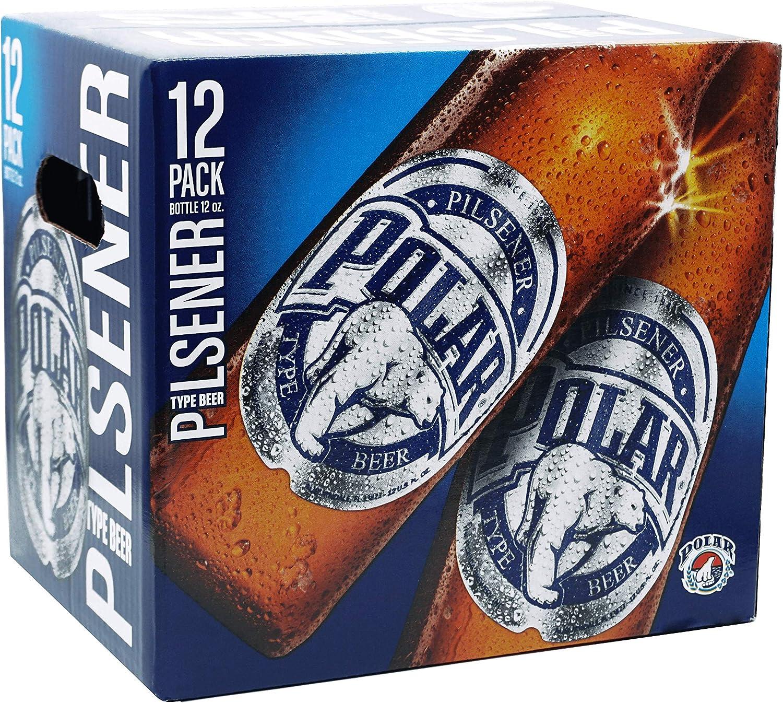 Cerveza Polar Pilsen - Paquete de 12 x 33cl – Total: 396 cl ...