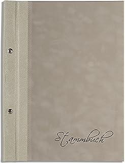 golden Din A4 Stammbuch der Familie Neve Echtleder Netzoptik Stammbücher
