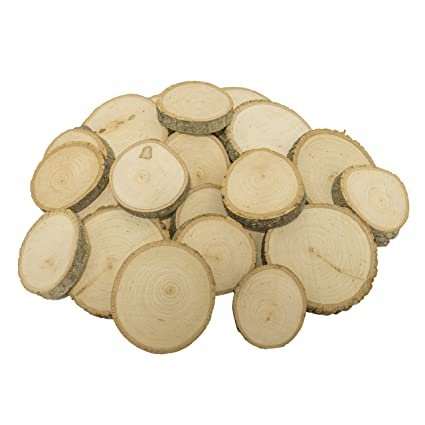 Amazon Com Walnut Hollow Piece Bulk Extra Small Basswood Coasters