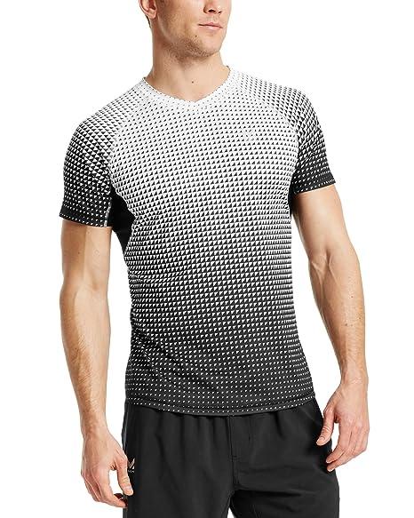 Amazon.com  Mission Men s VaporActive Stratus Short Sleeve Running T ... 6661b28e4