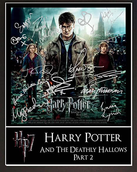 Harry Potter Movie Poster 1 Signed Mounted Photo Print Display 10 X 12
