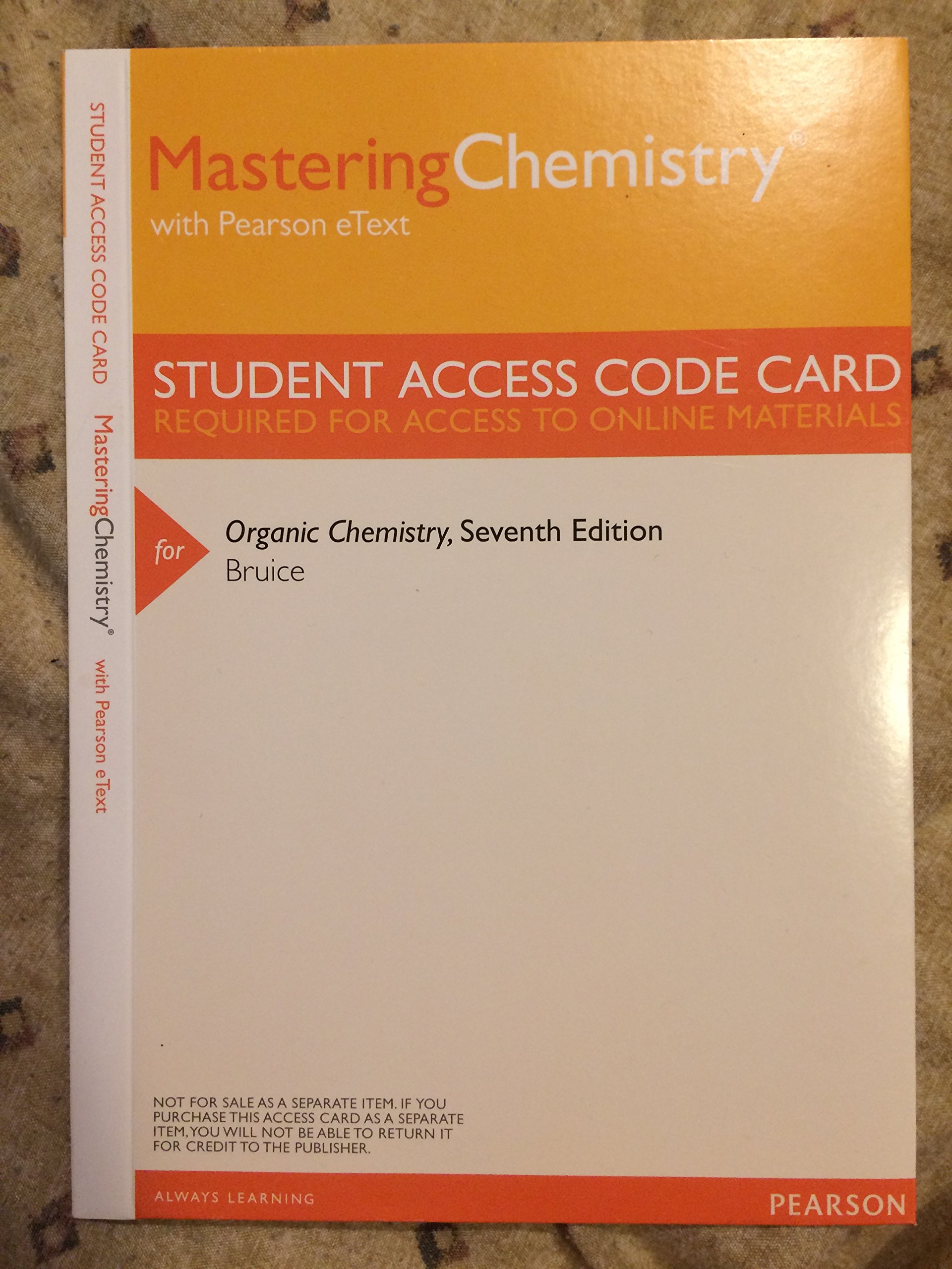 Organic chemistry 7th edition paula bruice pearson 9781269626484 organic chemistry 7th edition paula bruice pearson 9781269626484 amazon books fandeluxe