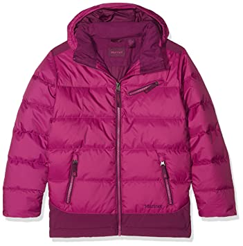 Marmot de las niñas Sling Shot Down Jacket, niña, Color Purple Orchid/Deep
