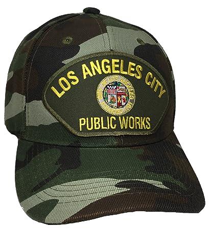 868e3c52f78fda Amazon.com : Los Angeles Public Works Hat Camo Ball Cap : Everything Else