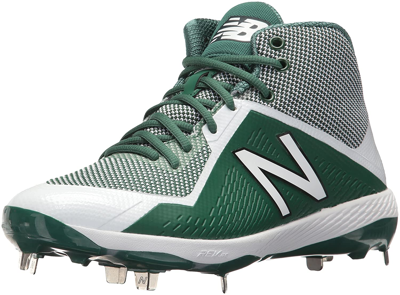 New Balance Men's M4040v4 Metal Baseball Shoe B01MRN438R 7 2E US|Green/White
