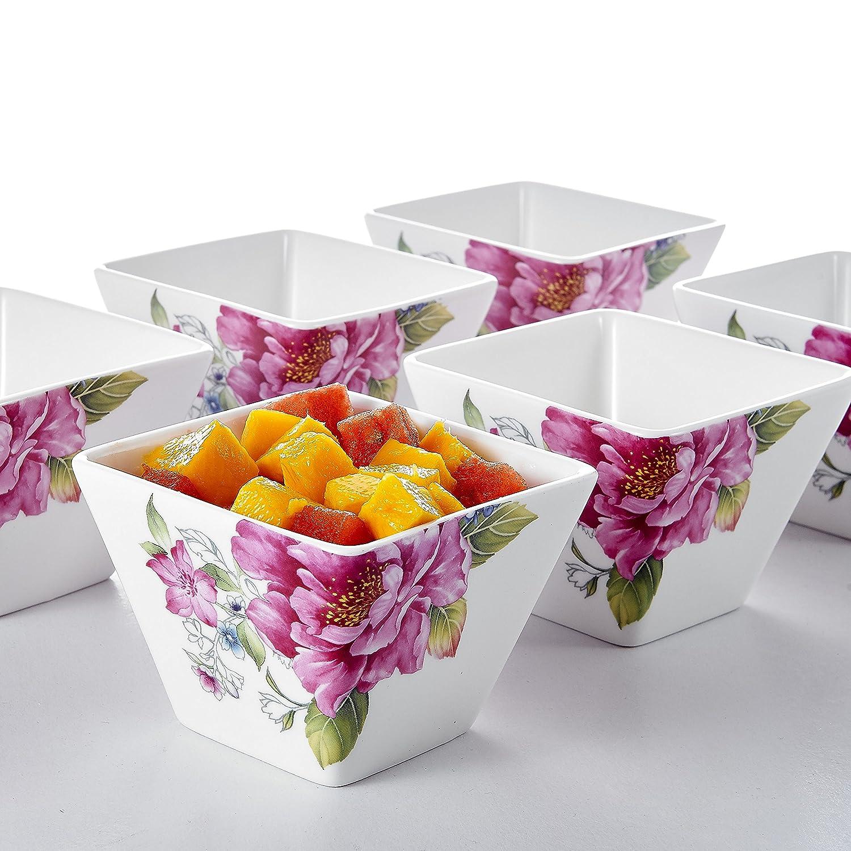 6 teilig 4 10cm 310ml sch ssel set keramik schale salatsch ssel m slischale neu. Black Bedroom Furniture Sets. Home Design Ideas